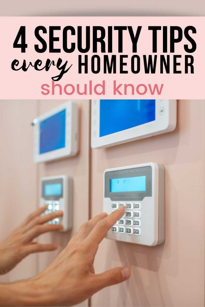 It is best to check your house's security from time to time to ensure that all your valuables and belongings are secure. We have outlined 4 easy security tips for the home that you should follow. Click to read more home security ideas, home security tips, home hacks, lifestyle tips, advice for your 20s, millennial lifestyle #homesecurity #security #home