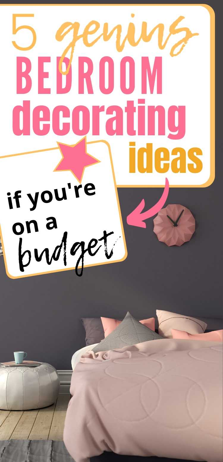 Decorating your bedroom is fun but it may come with lots of challenges – too many ideas in your head, not knowing where to start, PLUS the headache expenses bring. Here are 10 bedroom decorating ideas that are easy and cheap! Click to read more bedroom decorating ideas, bedroom decorating on a budget, decorating ideas for bedroom on a budget, bedroom decorating ideas on a budget, bedroom decorating ideas for women, #bedroom #decorating #bedroomdecor