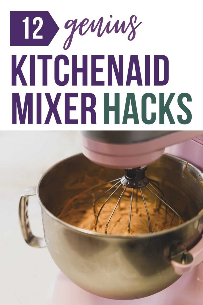The KitchenAid is a handy dandy kitchen tool that fits its name. There so many things you can do with it, from baking to even producing evenly shaped and cut pasta. However, did you know that there are a handful of KitchenAid hacks that you might not have heard of? Click to read more on kitchenaid stand mixer tips and hacks, kitchenaid stand mixer hacks, kitchenaid mixer hacks tips, kitchenaid hacks ideas, home hacks, life hacks, lifestyletips #kitchenhacks #homehacks #lifehacks #kitchenaidhacks