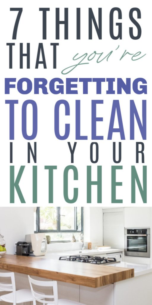 To help prevent your kitchen from further contamination, we've compiled a list of things and parts of the kitchen that you should take a look at when you clean the kitchen. Click to read more kitchen cleaning hacks, kitchen cleaning checklist, kitchen cleaning tips, kitchen cleaning list, cleaning kitchen checklist, home decluttering, home hacks, cleaning hacks, how to clean tips, lifestyle tips #kitchencleaning #cleaningkitchen #homecleaning